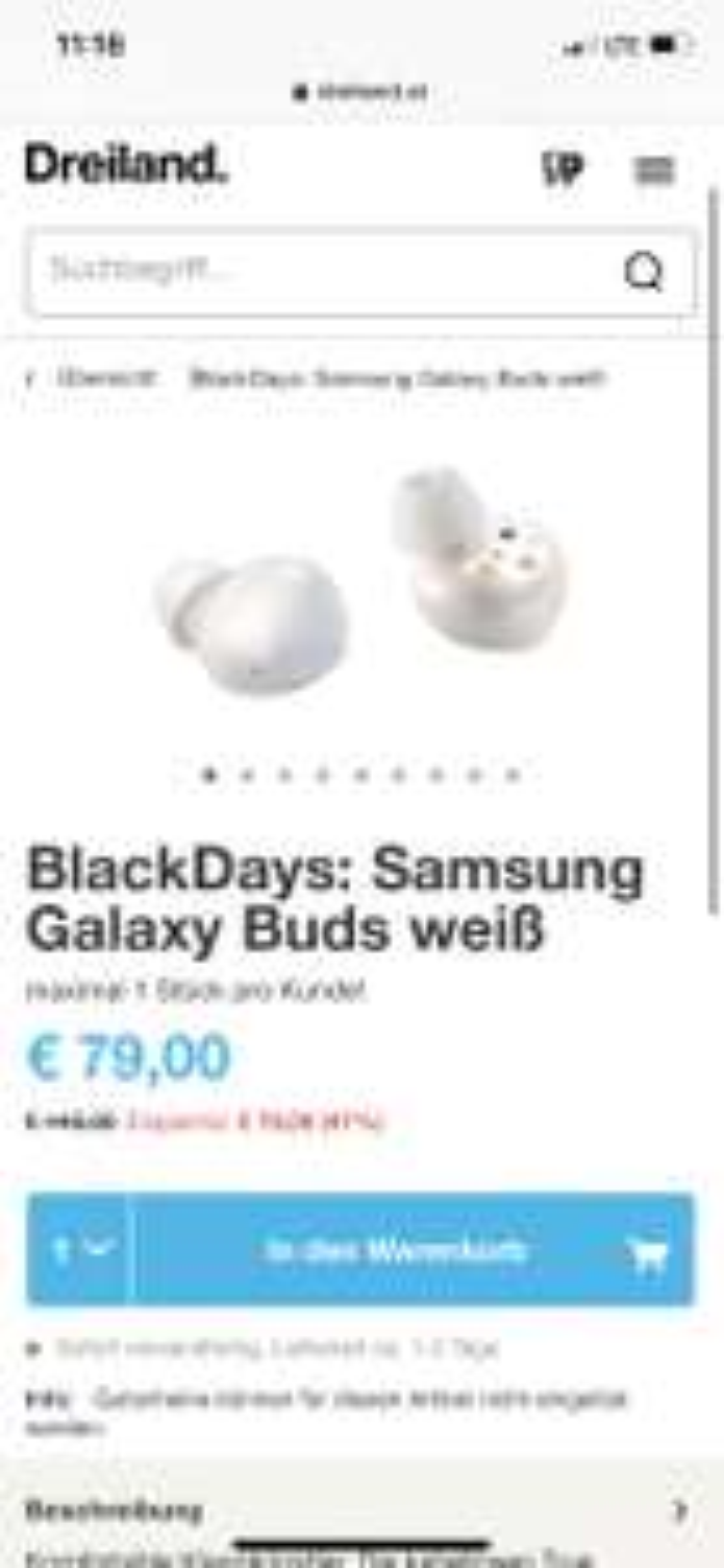 Galaxy Buds 79 €