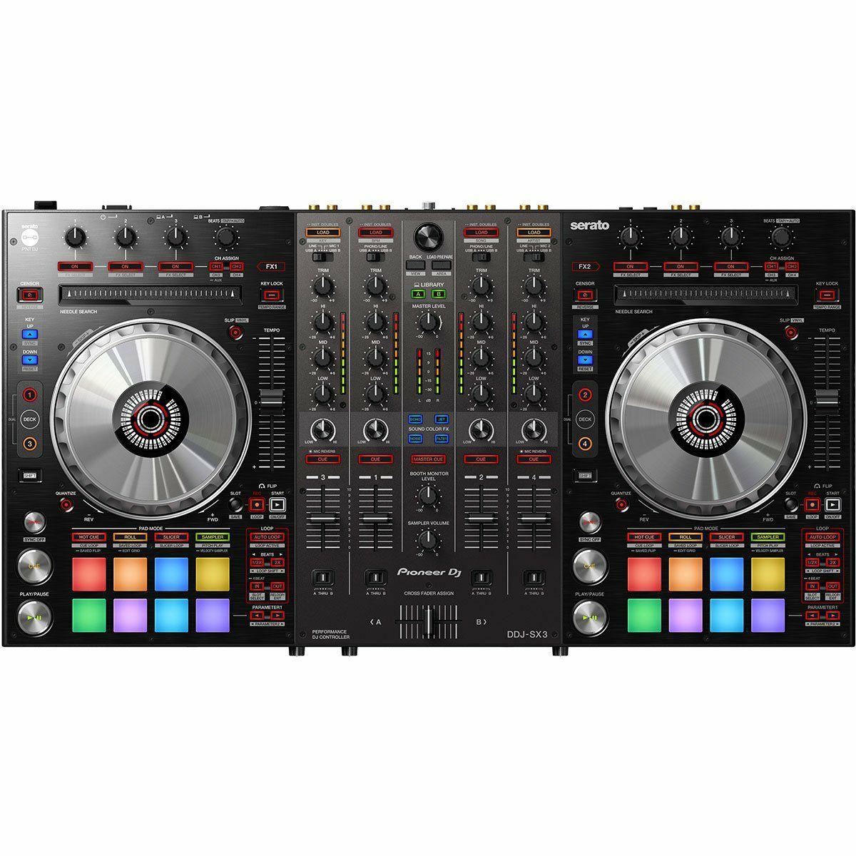 Pioneer DDJ-SX3: 4-Kanal DJ Controller