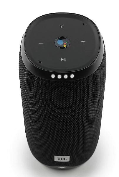 (Händlerdeal) JBL Link 20 schwarz Google Sprachsteuerung, Lautsprecher mit WLAN und Bluetooth
