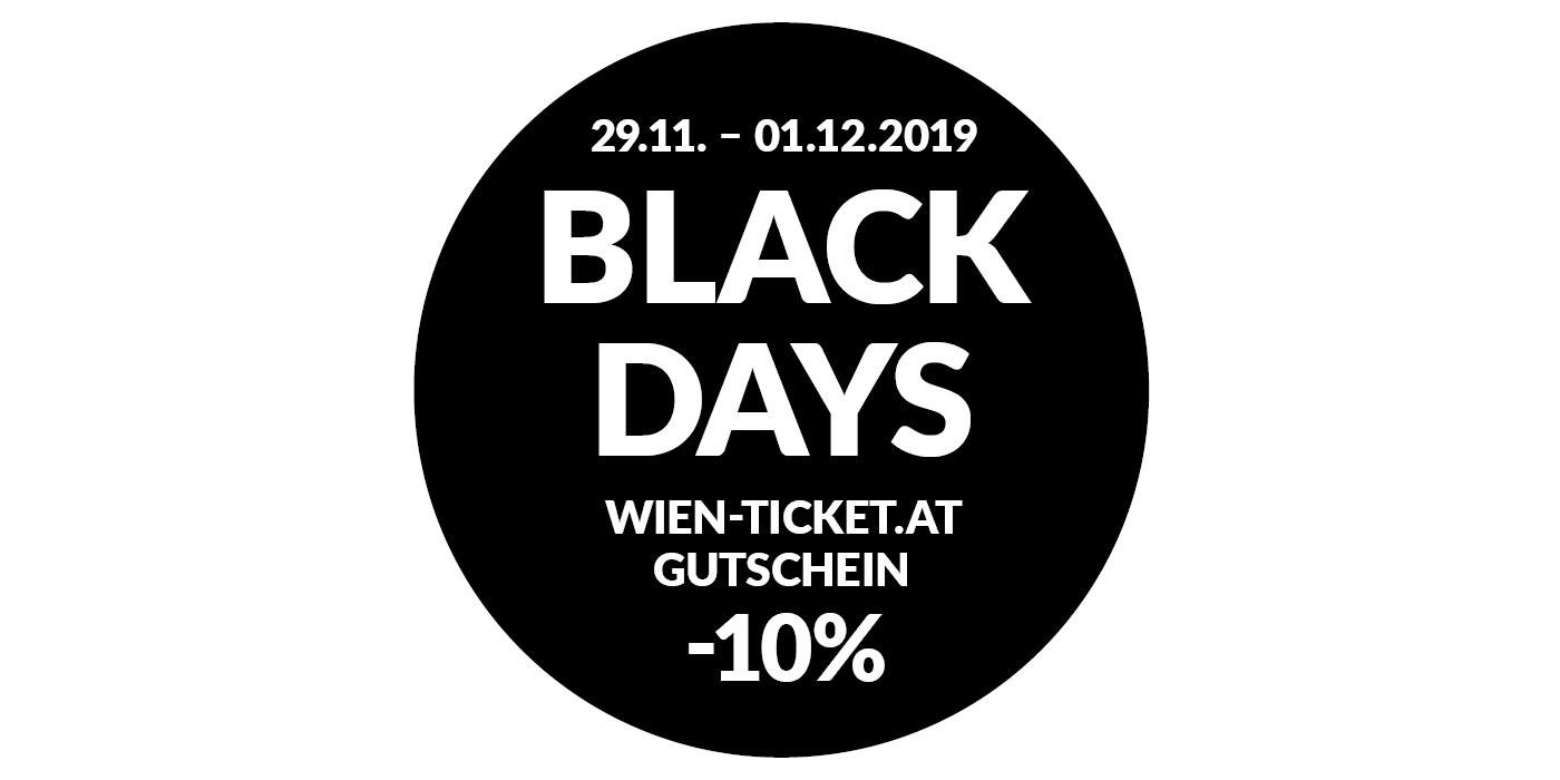 wien-ticket.at Black Days -10% auf Gutscheine