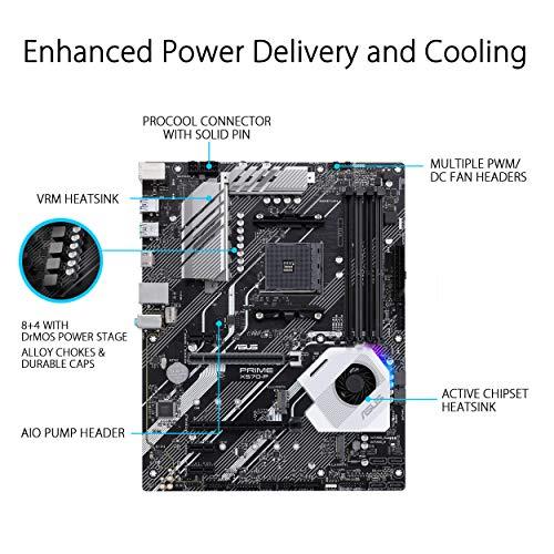 ASUS Prime X570-P Mainboard Sockel AM4 (Ryzen 3000 kompatibel)