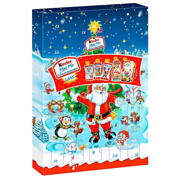 Kinder Mini Mix Adventskalender 152g