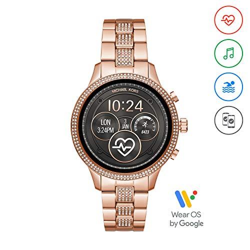 Michael Kors Damen-Smartwatch mit Edelstahl Armband