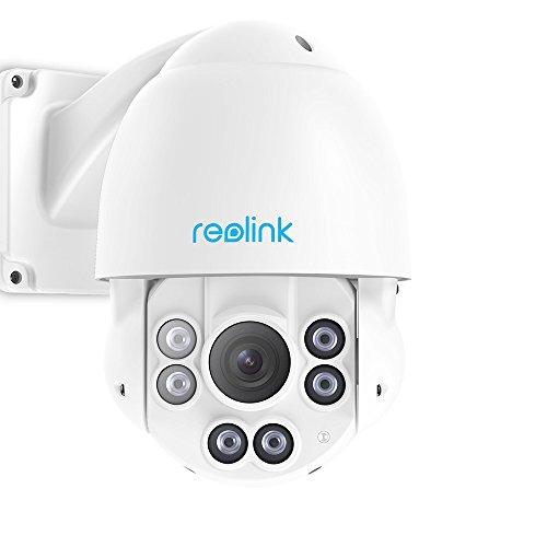 Reolink RLC-423-5MP IP Cam, schwenkbar, 4X Optischer Zoom, 58 Meter IR-Nachtsicht, micro SD-Kartenslot, IP66 Wasserfest