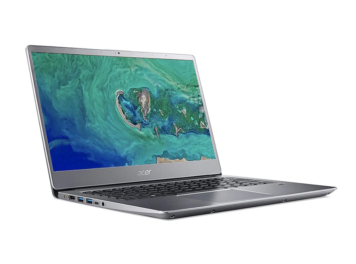 "(Händlerdeal) Acer Swift 3 silber 14"" FHD 4417U 4GB/128GB SSD Win10S SF314-54-P2RK"
