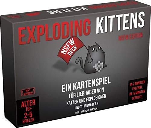 Exploding Kittens NSFW Edition Kartenspiel