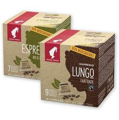 Julius Meinl Bio-Kapseln (Nespresso) kompostierbar