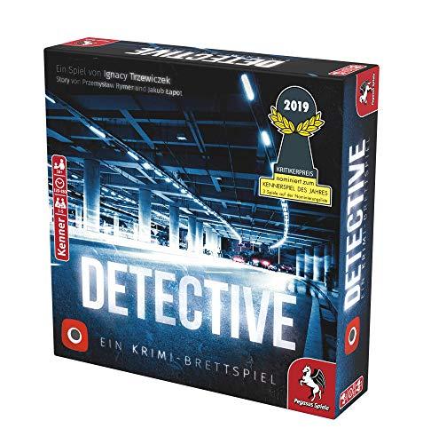 Pegasus Spiele - Detective (nominiert für das Kennerspiel des Jahres 2019)