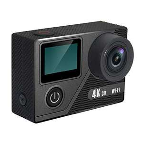 [PreisfehleraufLager] Discovery Adventures 4K Ultra-HD WLAN Action Kamera Premium inklusiv Selfie Stick, 12MP