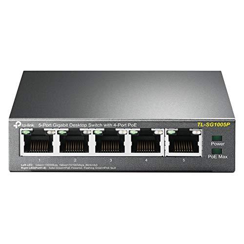 TP-Link TL-SG1005P 5-Port Gigabit PoE Switch