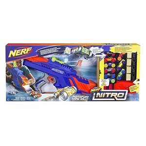 Hasbro Nerf Nitro - MotoFury Rapid Rally Fahrzeugblasterset
