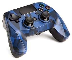 snakebyte PS4 GAME:PAD 4 S Wireless Bluetooth - blau camouflage