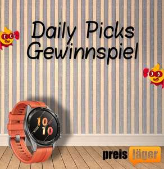 Daily Picks Gewinnspiel: Huawei Watch GT Special Edition