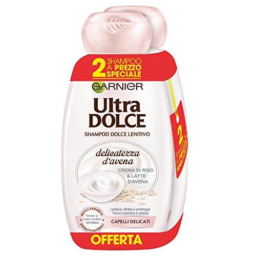 AMAZON.de l Schönes Haar wie Peter? Kein Problem mit Garnier - Ultra süßes Shampoo 6 Stück 300ml Flaschen Reis- und Hafermilchcreme