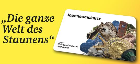 Joanneumskarte: 12 Monate Geschichte, Kunst, Kultur und Natur