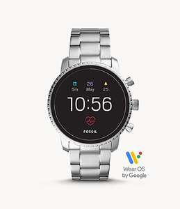 Fossil SMARTWATCH EXPLORIST HR 4. GENERATION Silber