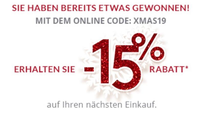 Triumph -15% auf eine Bestellung im online Shop