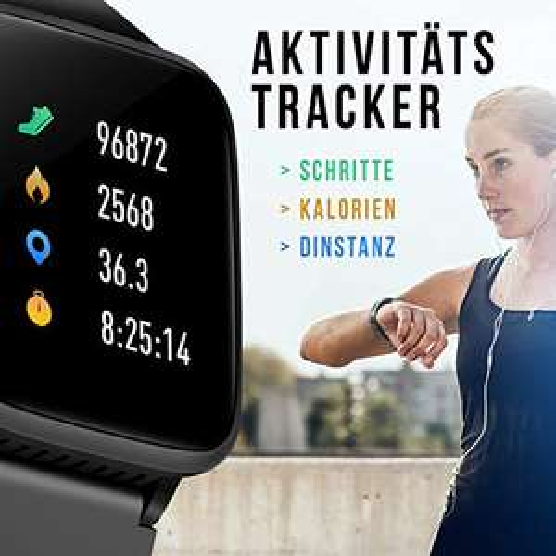 IP68 Wasserdicht Fitness Trackers für Android iOS