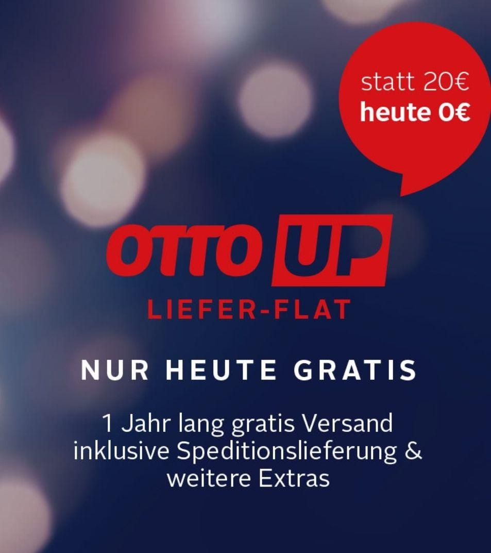 1 Jahr gratis OTTO UP: Gratis Lieferung/Spedition und 3 Jahre Garantie, nur heute