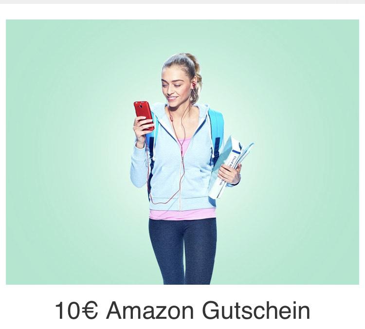 12 Monate prime student gratis+10 Euro Amazon Gutschein