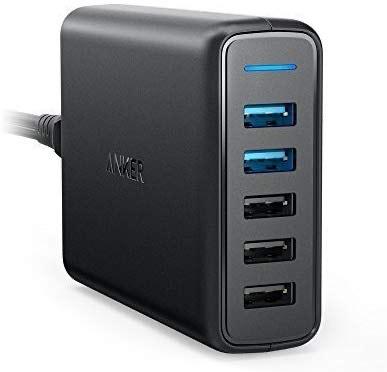 Anker PowerPort 63W 5 Port USB Ladegerät