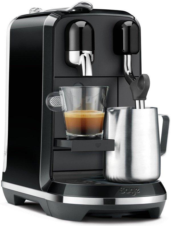 """Sage """"SNE500BKS"""" - """"Nespresso the Creatista Uno"""" mit Milchaufschäumer"""