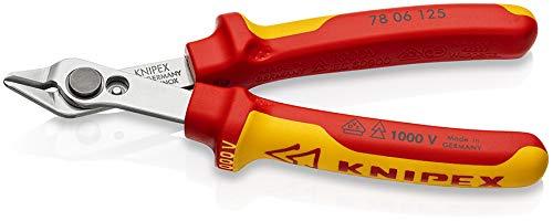 Knipex Electronic Super Knips 125 mm (VDE geprüft, für feine Schneidarbeiten)