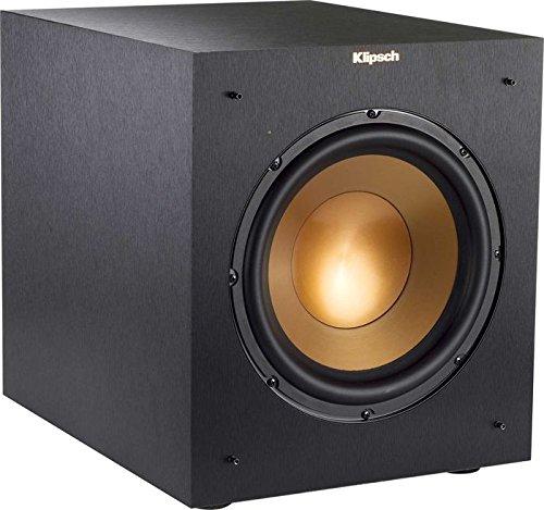 'Klipsch r-10swi 150 W Subwoofer Black - Tieftöner (150 W, 32 - 120000 Hz, 300 W, 112 dB, 25.4 cm, 25.4 cm (10))