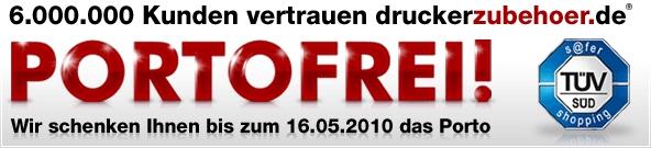 Druckerpatronen und Zubehör sehr günstig bei Druckerzubehör.de *Update*