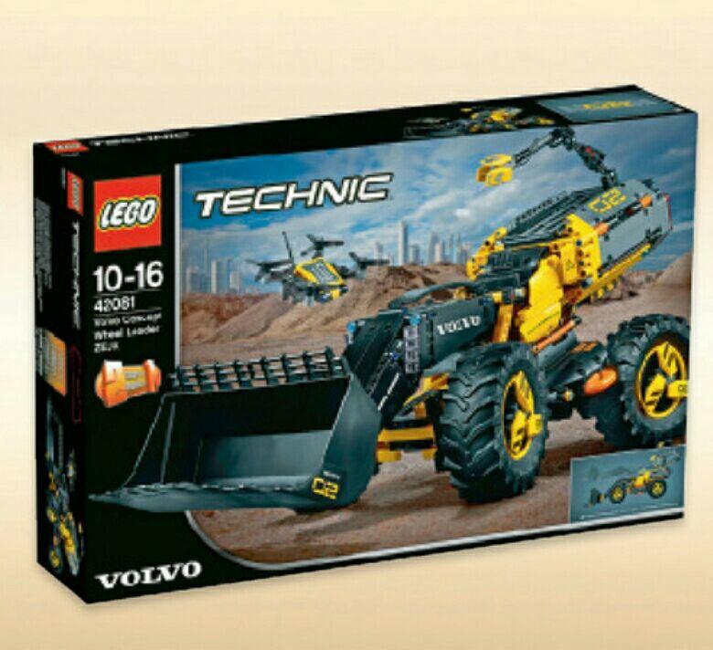 [Metro] LEGO Technic - Volvo Konzept-Radlader Zeux (42081) um nur 58,49€ Bestpreis!