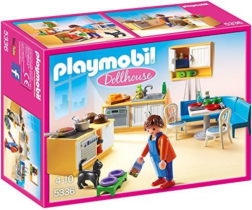 Playmobil Dollhouse - Einbauküche mit Sitzecke