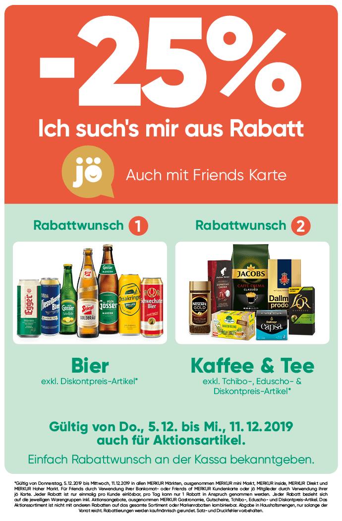Lebensmittelhandel Angebotsübersicht 5.12.2019 - 11.12.2019