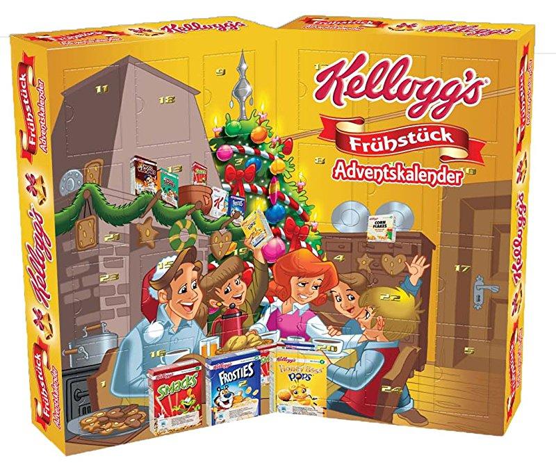 AMAZON.de l Kellogs Adventskalnder in Buchform 810 g