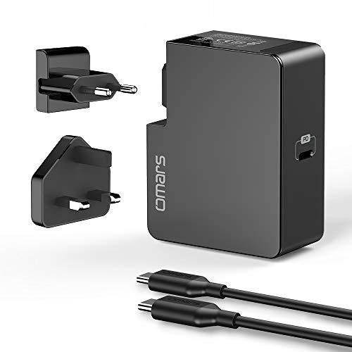 60W USB-C Ladegerät mit PD + 1m USB-C Kabel