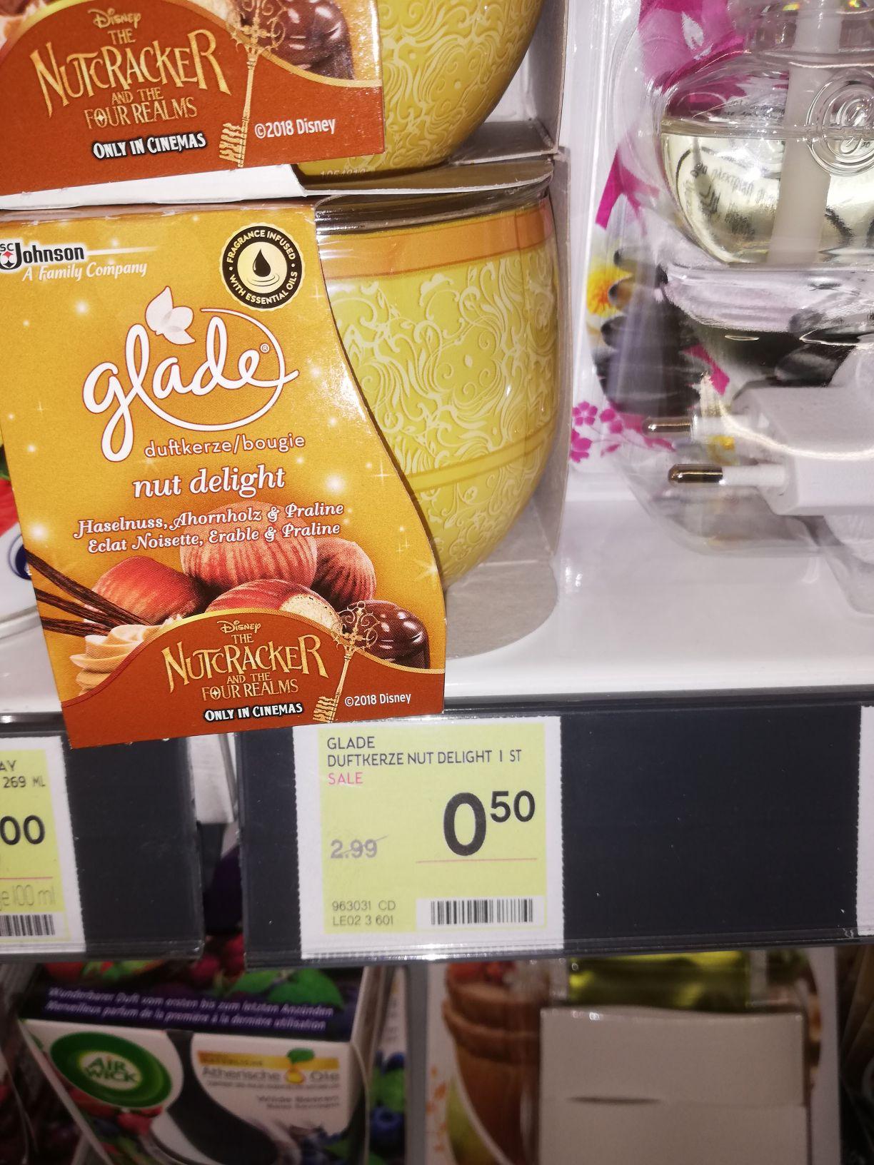 Bipa glade duftkerze nut delight