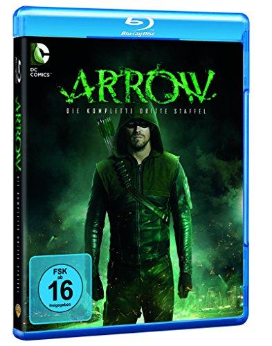 Arrow Staffel 3 inkl. Comicbuch