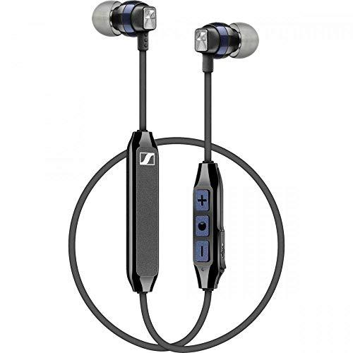 Sennheiser In-Ear-Wireless-Kopfhörer, schwarz/blau