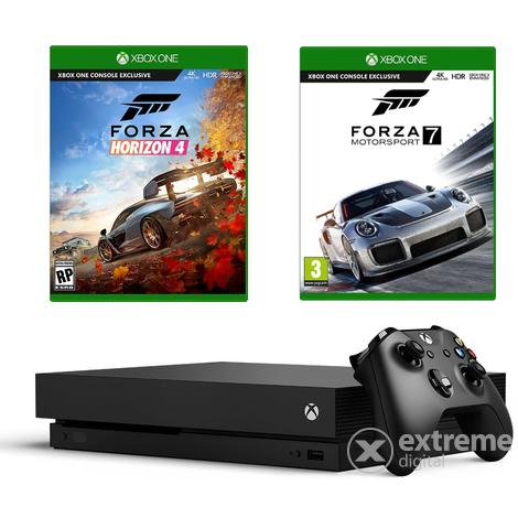 Microsoft Xbox One X 1TB + Forza Horizon 4 + Forza Motorsport 7 oder Gears 5 um nur 292,01€ inkl. Versand