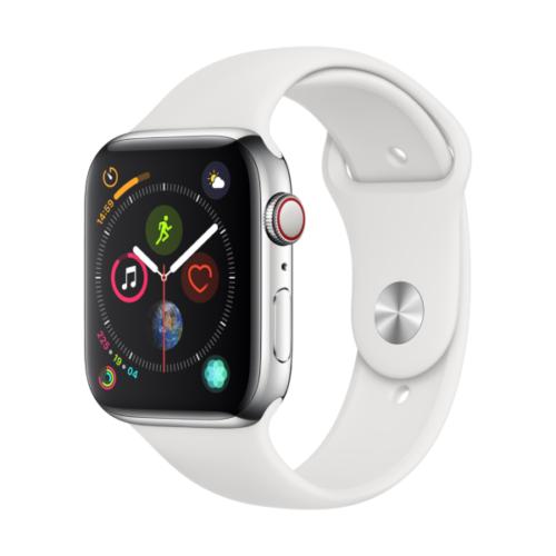 Apple Watch Series 4 mit Edelstahlgehäuse (LTE, 44mm)