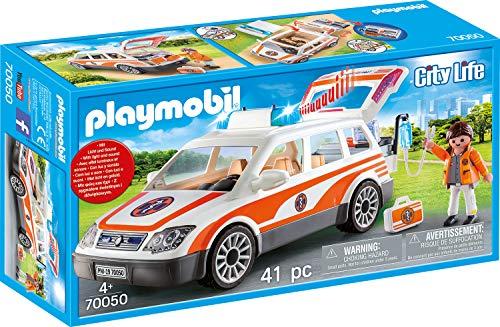 Playmobil City Life - Notarzt-PKW mit Licht und Sound