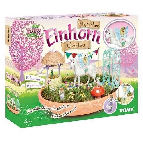 """Preisjäger Junior: Tomy """"My Fairy Garden"""" inkl. Einhorn und Grassamen"""