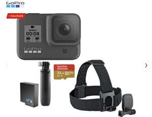 GOPRO HERO8 Black Holiday Bundle Action Cam 4k - neuer Preis unter 400,--