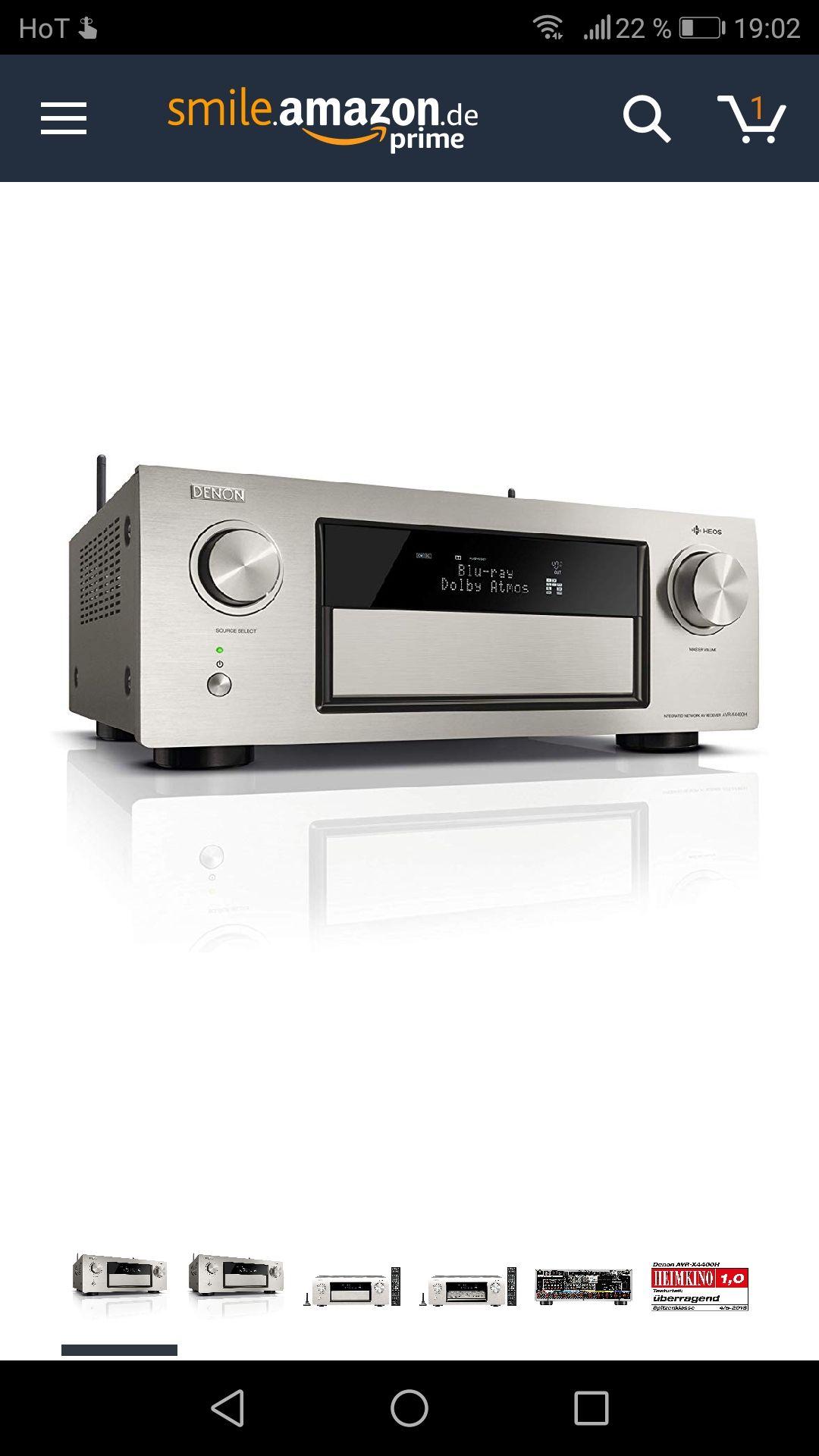 Denon AVRX4400H 9.2 Premium AV-Receiver