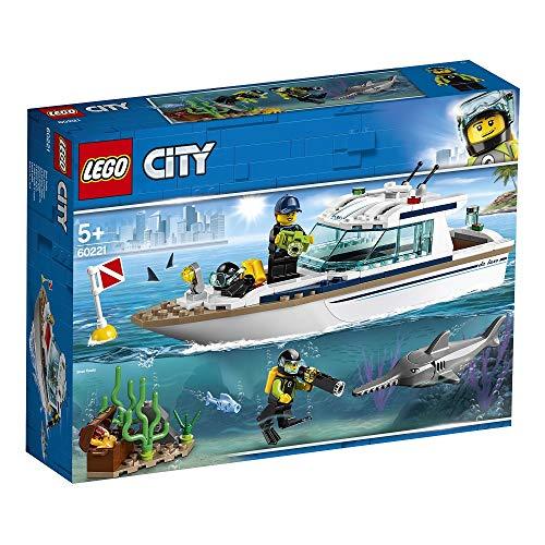 LEGO City, Tauchyacht