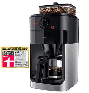 Philips HD7767/00 Grind und Brew Filterkaffee-Maschine
