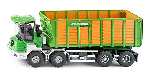 SIKU Farmer Joskin Cargo-Track mit Ladewagen