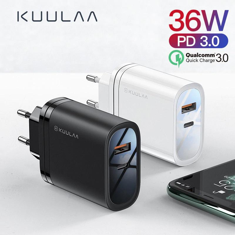 Quick Charge 3,0 USB Ladegerät Für Redmi Hinweis 7 Pro 36 W PD