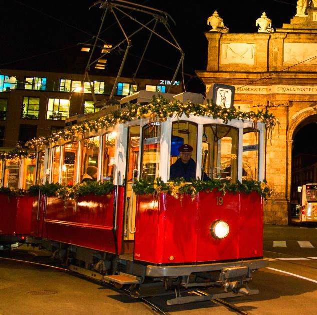 [Innsbruck] Mit der Christkindlbahn kostenlos durch die Stadt
