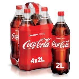 Cola, Fanta, Sprite - 2 Liter (ab 4Stück)