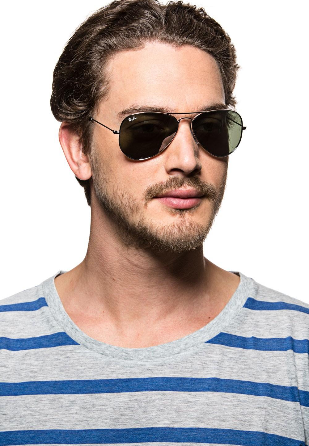 Ray Ban Sonnenbrille - grau-silber